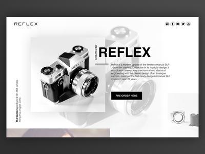 SLR Camera by Reflex