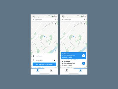 Daily UI #029 - Map map 029 dailyui mobile app ui ux