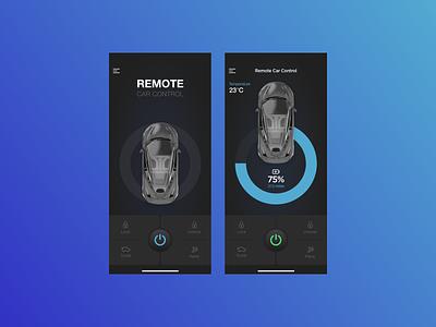 Daily UI #034 - Car Interface dashboad interface car 034 dailyui mobile app ui ux