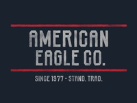 American Eagle lettering geometric slab serif industrial distressed rough hand drawn typography typeface type font