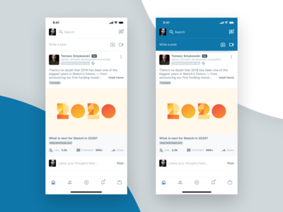 Linkedin mobile app redesign