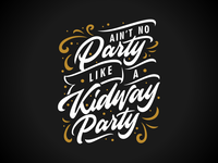 Kidway Party Lettering