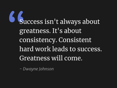 Dwayne Johnson dwayne johnson quote type dark typography