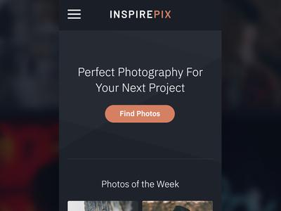 Mobile Ideas hamburger button orange website rwd responsive mobile design web design