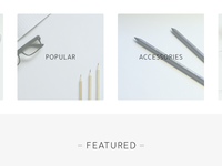 Featured Collections / Categories