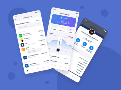 WebMoney mobile app concept. Account balance coin infographics transfer history payment bank balance account money electronic money app android ios finance mobile app interface ux mob animation ui