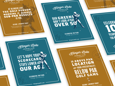 Country Club Posters color icon logo illustration vector branding lettering typography type design