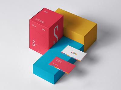 Achinkids Giftbox clothing fun children kids colours branding