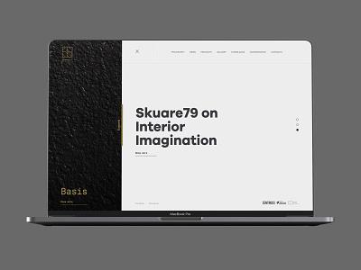 Skuare79 on the Web webdesign ui uxui web identity branding