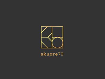 Skuare79 Logo graphicdesign branding and identity gold symbol logotype logo identity branding