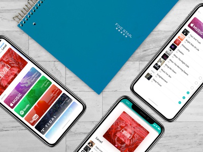 SongShift UI application mobile ux ui givenchy andregivenchy iphone x playlist music experience interface product design