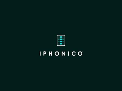 Iphonico logo iphone