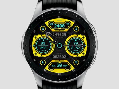Spacer buttons samsung watchface ui spacer watch face ui