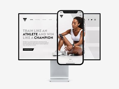 MyElitePT - Website Design ux design ux ui sport sport website gym website fitness website sport app simple app simple minimalist app minimal app gym app fitness app app minimalist minimal gym logo fitness logo fitness