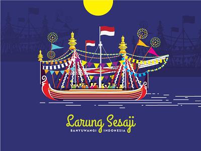 Indonesian Cultural Festival Poster festival vector indonesia culture poster illustration