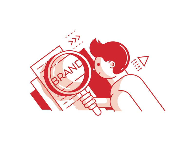 Brand Analysis Illustration