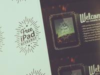 Free iPad Giveaway!