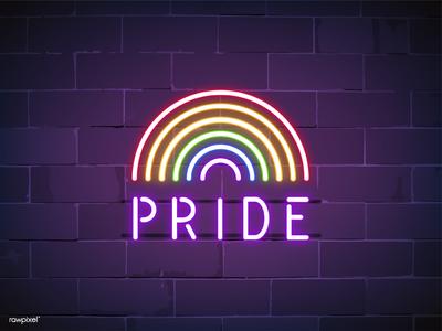 ' Pride ' Neon Sign