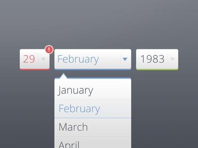 Date of Birth!
