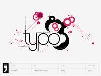 Typo - An experimental typography poster