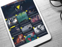 Music/Sound Website Design - L'Oreal Sound of Beauty