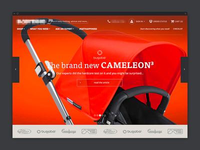 Online Store Landing Page - Design - eCommerce shopify webshop store shop product html widget website design ecommerce magento
