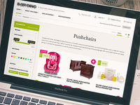 Online Store Category Sticky Sidebar Nav - Design - eCommerce