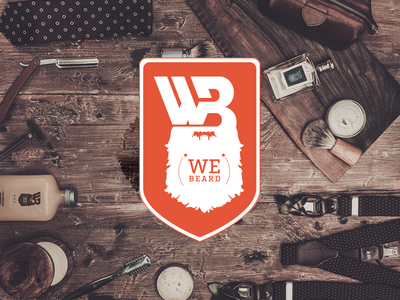 WE Beard - Open Source Beard Care Society logo beardcare care mustache webeard beards wax balm recipe opensource oil beard