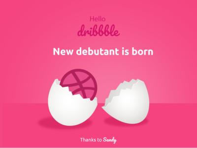 My first shot feelings indore egg ui firstshot newborn photoshop illustration debut cute