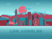 Postcard Los Angeles