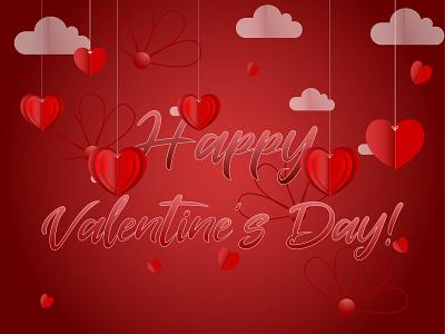 Design for valentine. typography ux ui icons design vector graphic design illustration colorful adobe illustrator