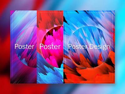 Poster Dribbble poster design design graphic design colorful illustration adobe photoshop