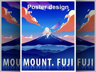 Poster Dribbble 01 poster adobe photoshop design vector graphic design illustration colorful adobe illustrator