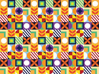 unique geometric pattern.
