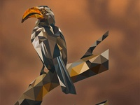 Lowpoly Bird 01