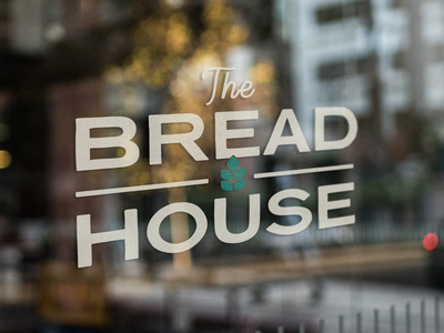 The Bread House typography animation packaging vector icon design branding design logo branding bakery