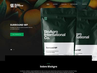 BioAgro website web ux packaging ui icon costa rica branding design logo branding design