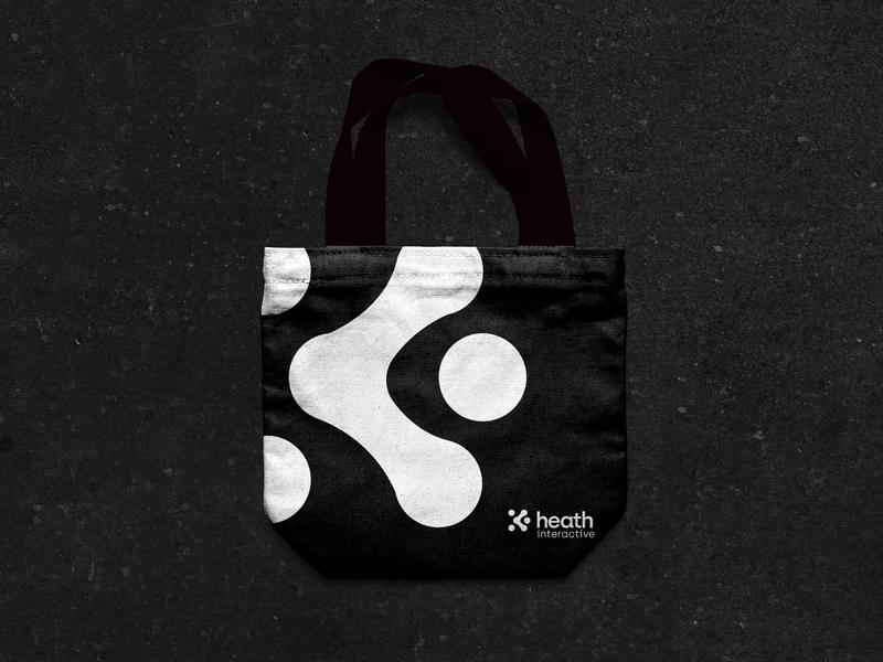 Heath Branding interactive media interaction interactive minimal vector packaging typography icon illustration branding design logo branding design