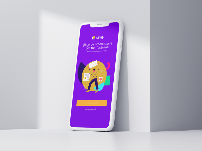 Slime App product design website app web ux ui icon illustration branding design logo branding design