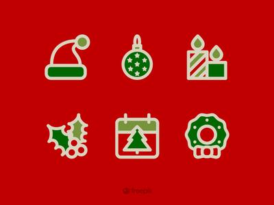 Freebie Holidays icons