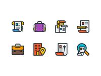 Job & Resume Icons