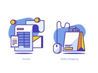 Invoice & Shopping Icons