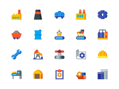 Industry Icon factory industrial icons icon industry