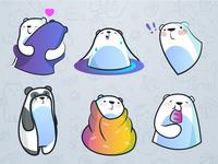 Polar Bear Stickers