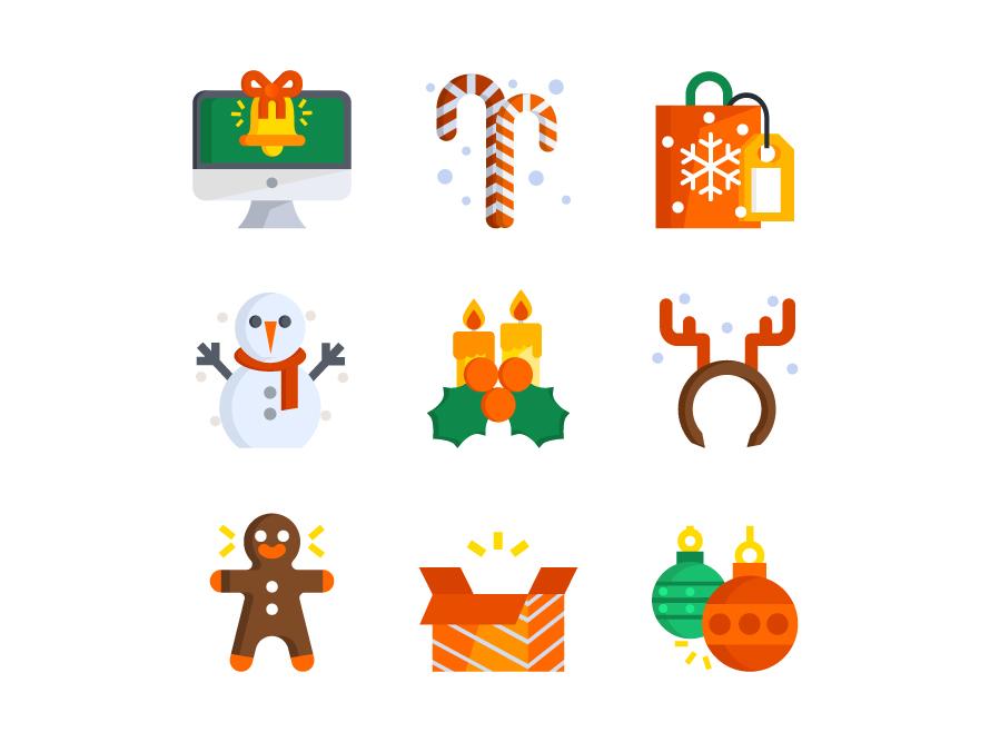 Christmas christmas xmas icons icon design illustration icon