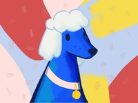 Poodle Illustration