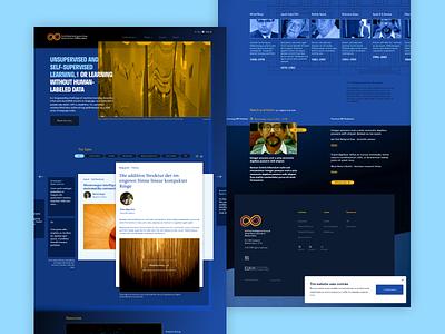 Ai Rényi – Home page webdesign branding ui ux web budapest goeast identity design