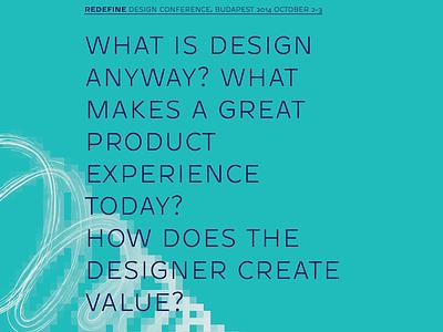 Redefine Conference Communication Leaflet  redefine design conference leaflet
