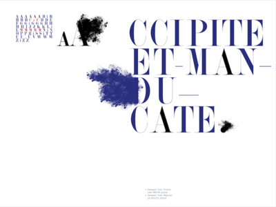 Gewaard type specimen spread  fontbook spread hungarumlaut gewaard