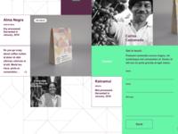 Holistik Coffee website contact form detail – UX/UI